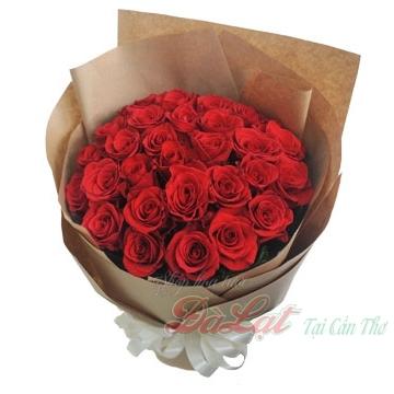 Hồng đỏ yêu thương
