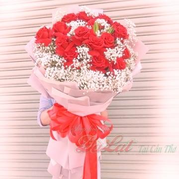 Hoa hồng Ecudor 16 bông