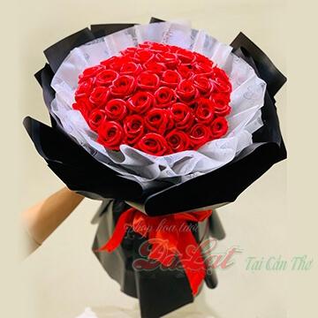 Hồng sáp Valentine