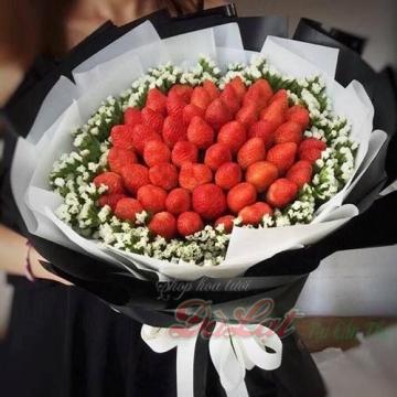 Hoa trái cây dâu