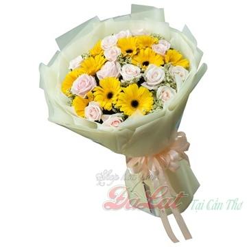 Bó hoa vàng