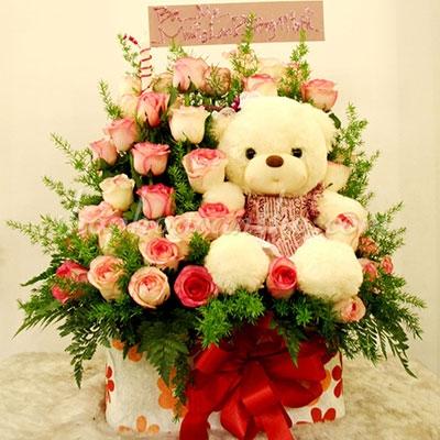 SN.01 - Hoa hồng bên gấu