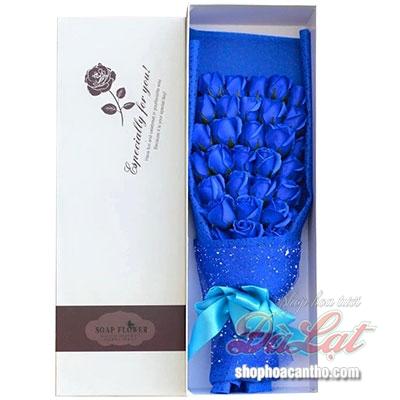 Hoa hồng sáp xanh bất tử